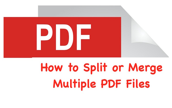 PDF Merger and Splitter tools and apps