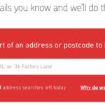 Free Postcode / ZIP & Address Finder Services, Where to do search