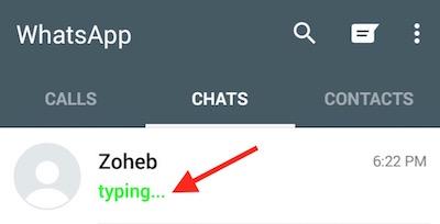 Hide Typing Status