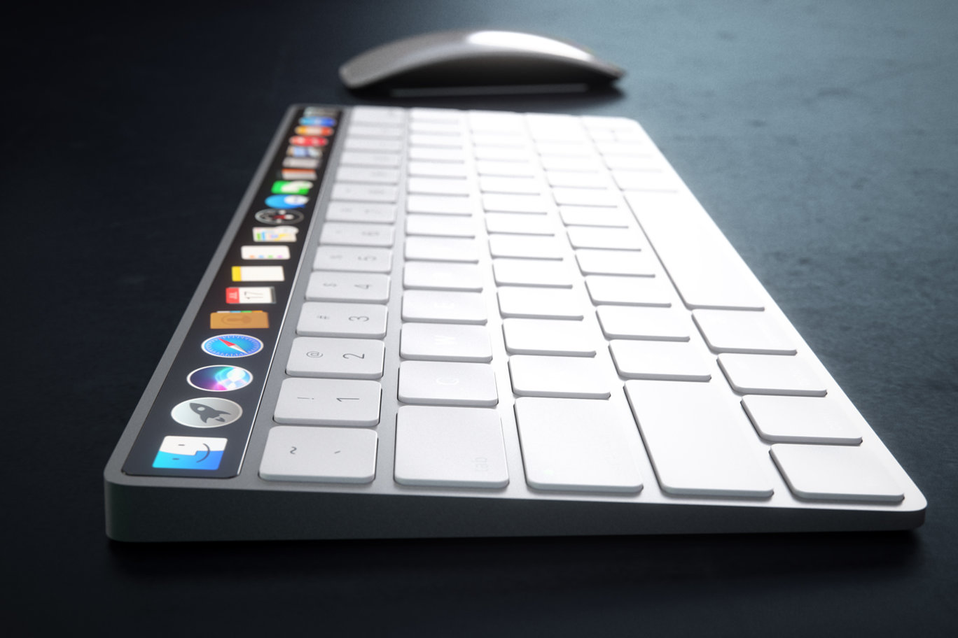 IMAC Keyboard with OLED Touch Bard 2
