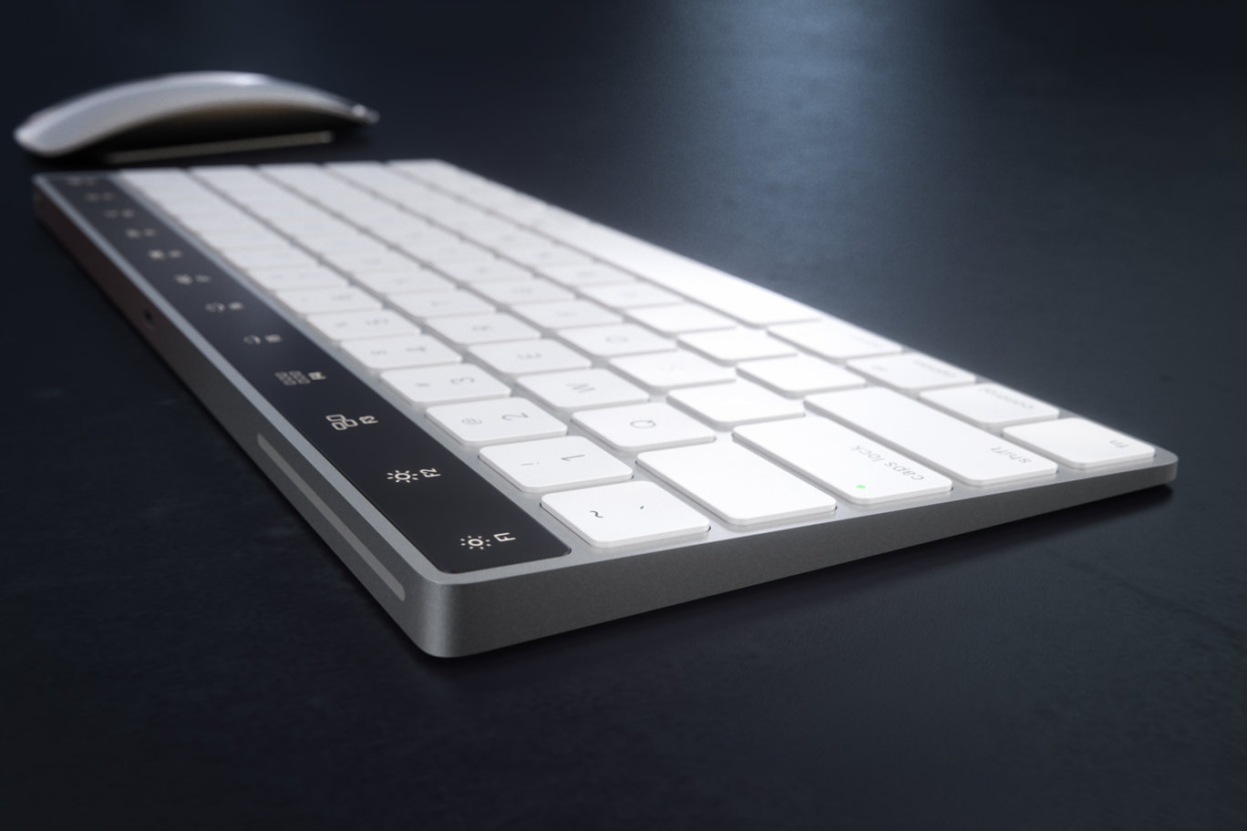 IMAC Keyboard with OLED Touch Bard 5