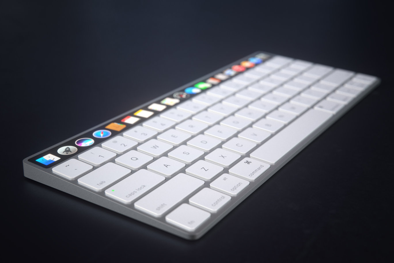 IMAC Keyboard with OLED Touch Bard 7
