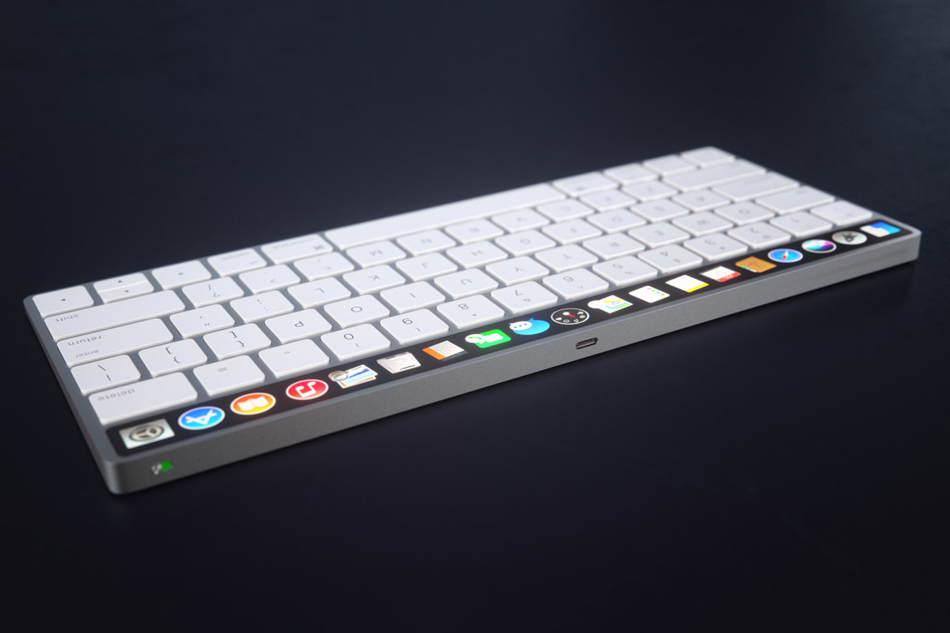 IMAC Keyboard with OLED Touch Bard 8