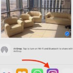 Share Photos to Instagram directly from iPhone's Photos App