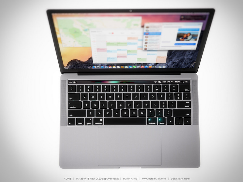 MacBook with OLED Touch Bar 13