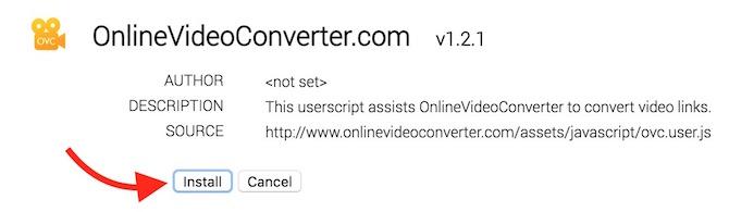 Online Video Conversion Script