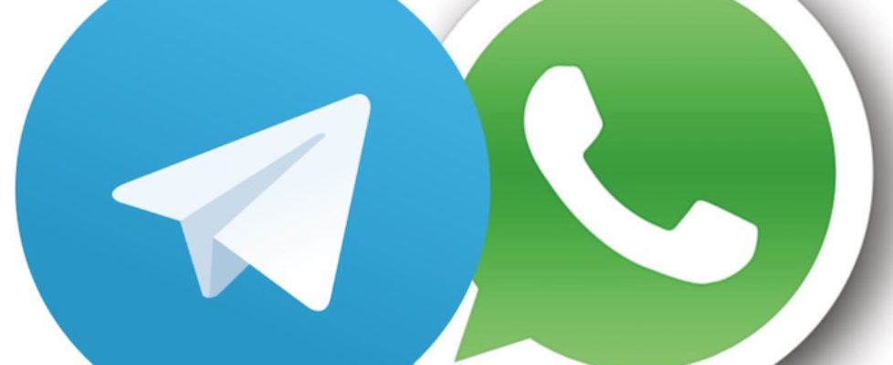 Telegram and WhatsApp