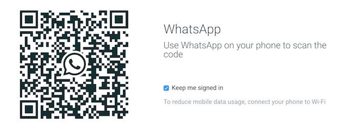 WhatsApp web or whatsapp for PC