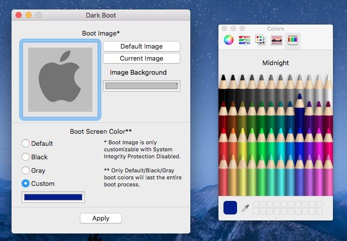 Choose Custom Color