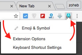 Google Input Tool Settings