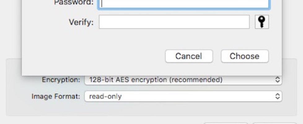 Password Protect Mac Folder