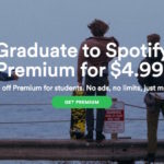 Spotify Premium at 50% discount $4.99 : Students Only