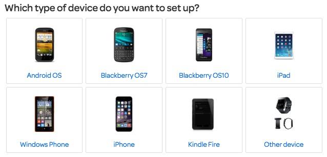 TalkTalk Mail Setup for Smartphones and tablets