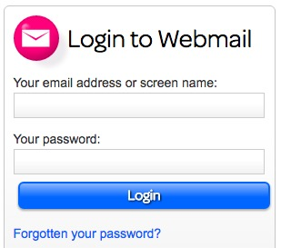 TalkTalk Webmail