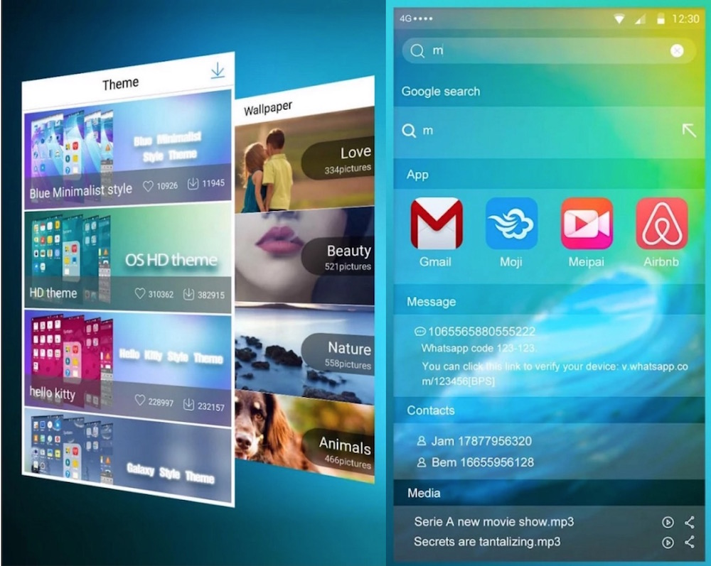 Vshare OS9 Android LauncherVshare OS9 Android Launcher