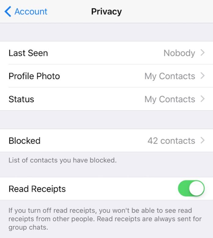 WhatsApp Privacy