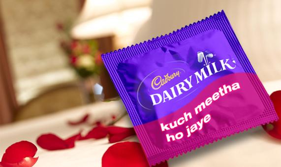 Cadbury condom