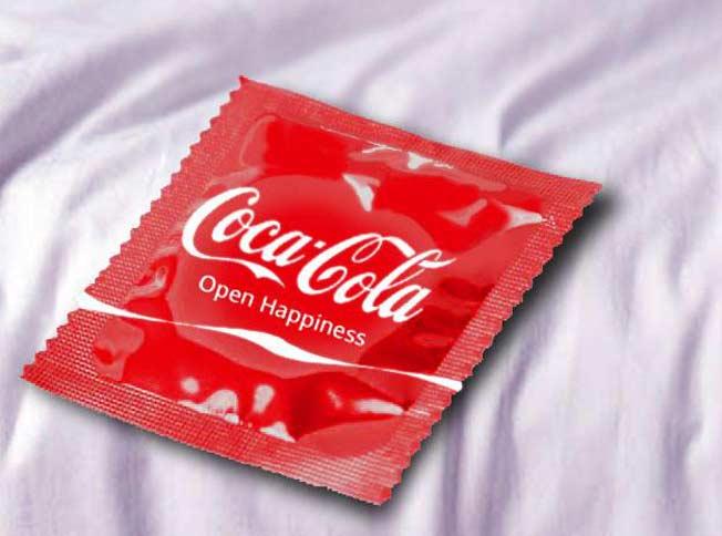 Cocacola condom