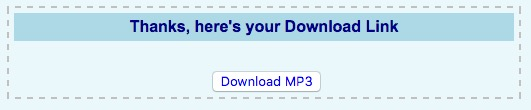 Download YouTube as MP3