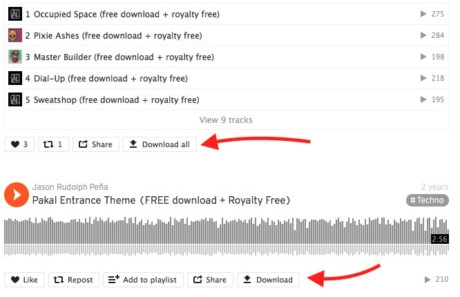 Firefox SoundCloud Downloader Extension