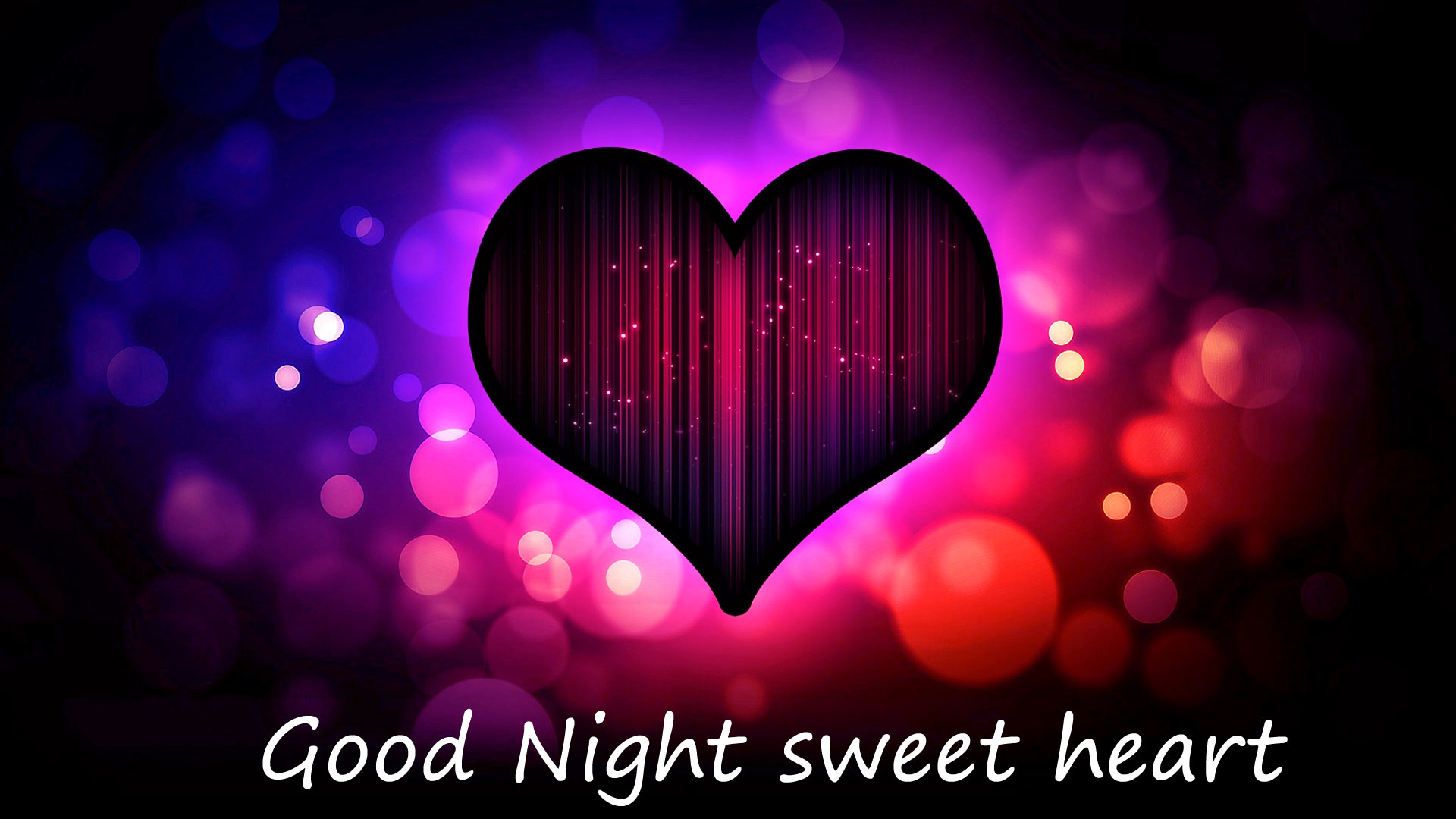 Good Night Heart love image