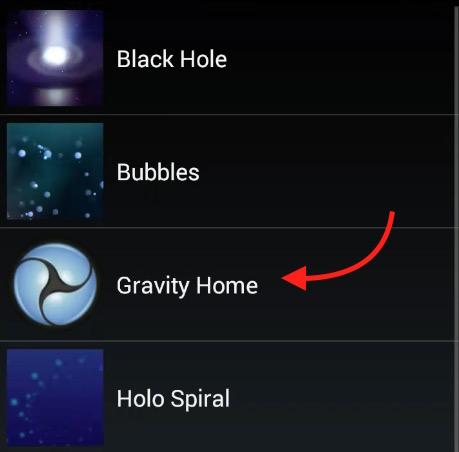 Gravity Home like Googlel Gravity