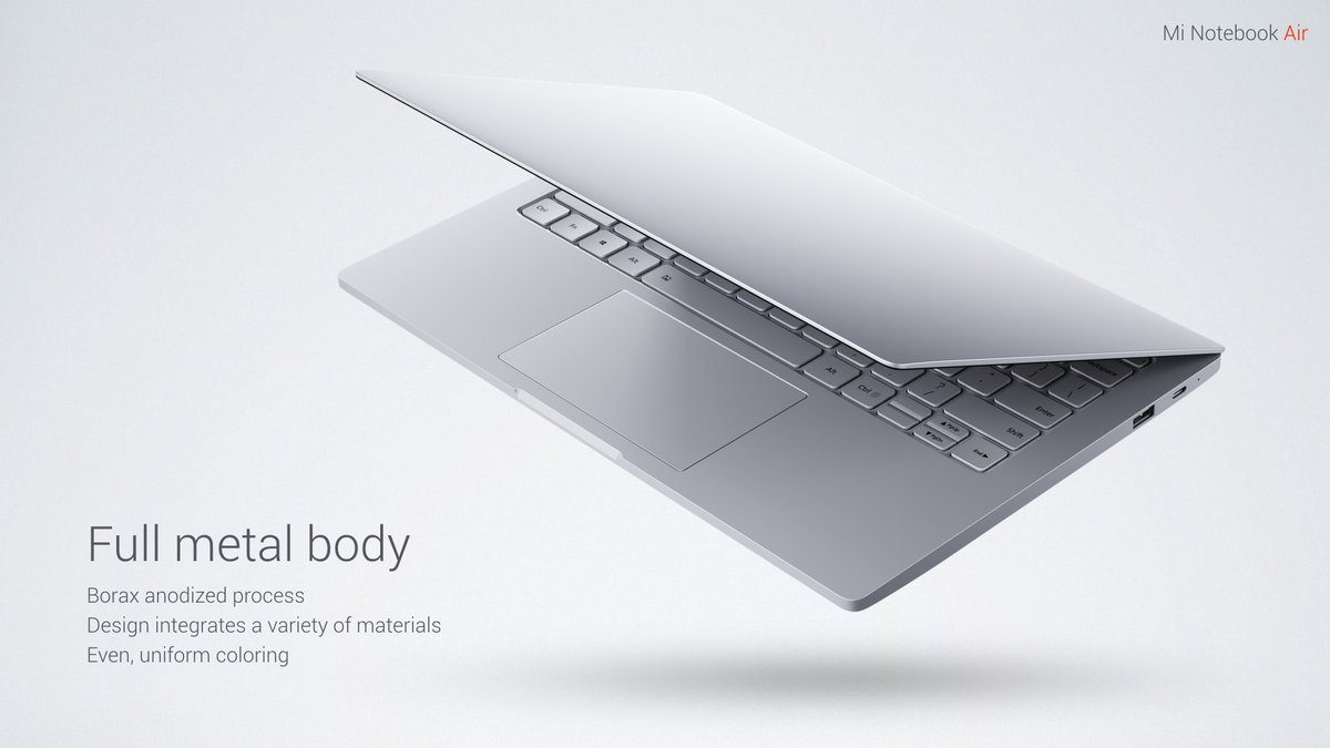 Mi NoteBook Air Body