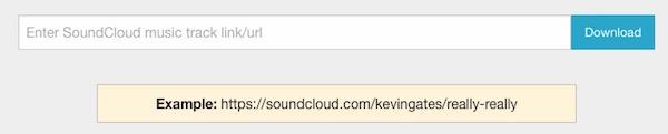 Music Downloader for SoundCloud