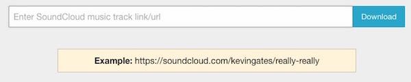 Playlist downloader for Sound Cloud