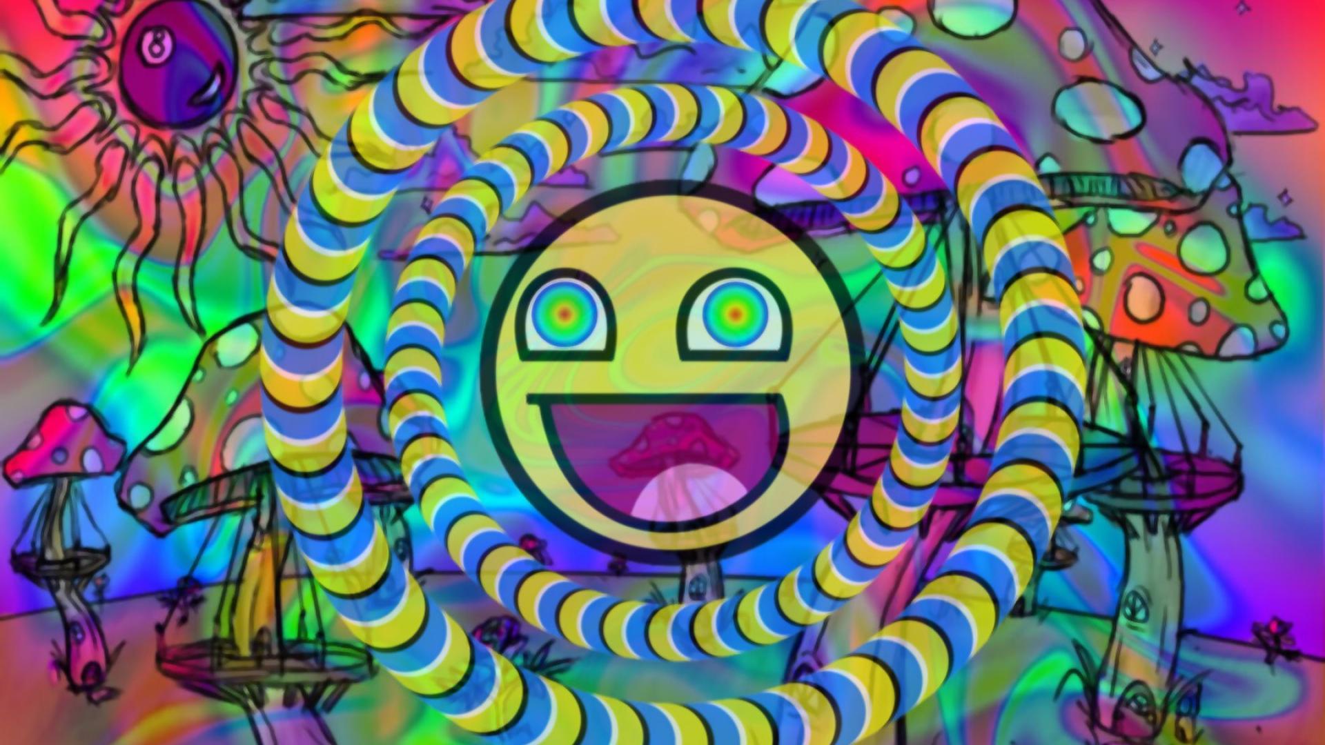 Psychedelic Wallpaper Emoji