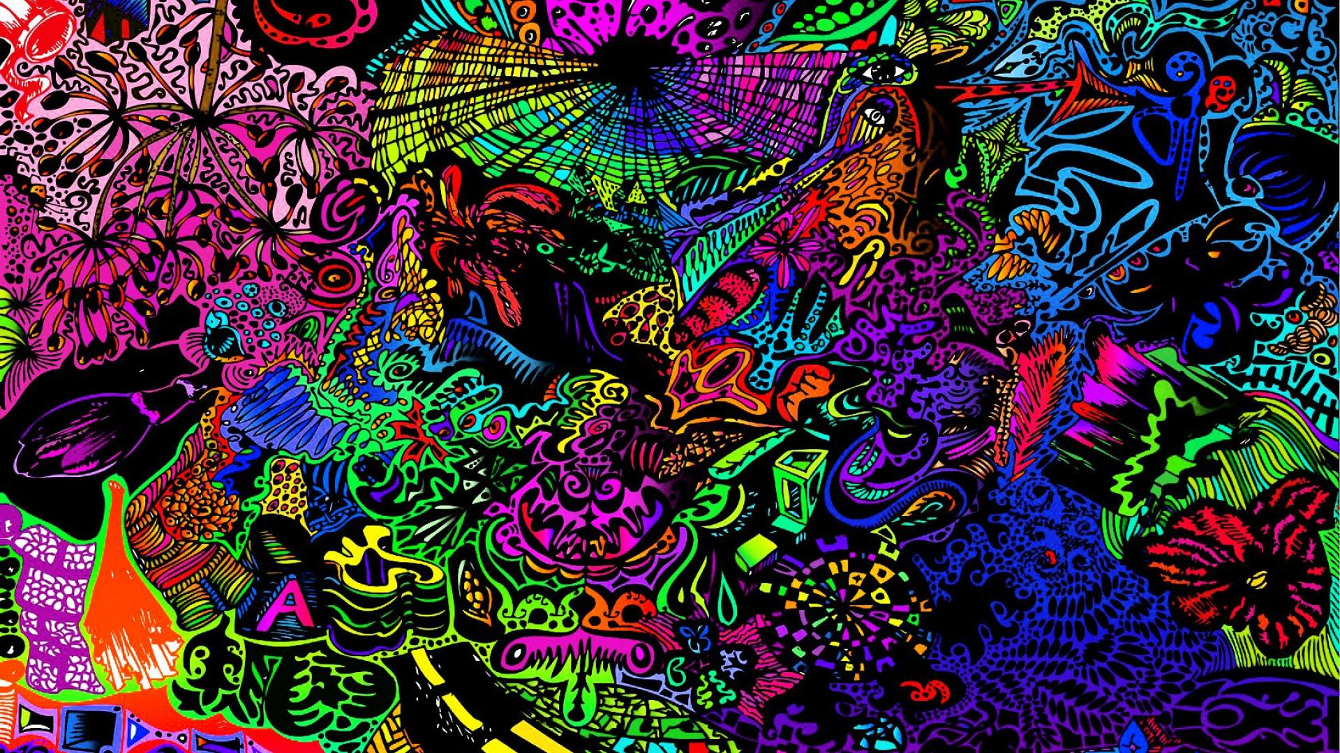 Psychedelic Wallpapers Color Art