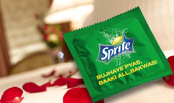 Sprite condom