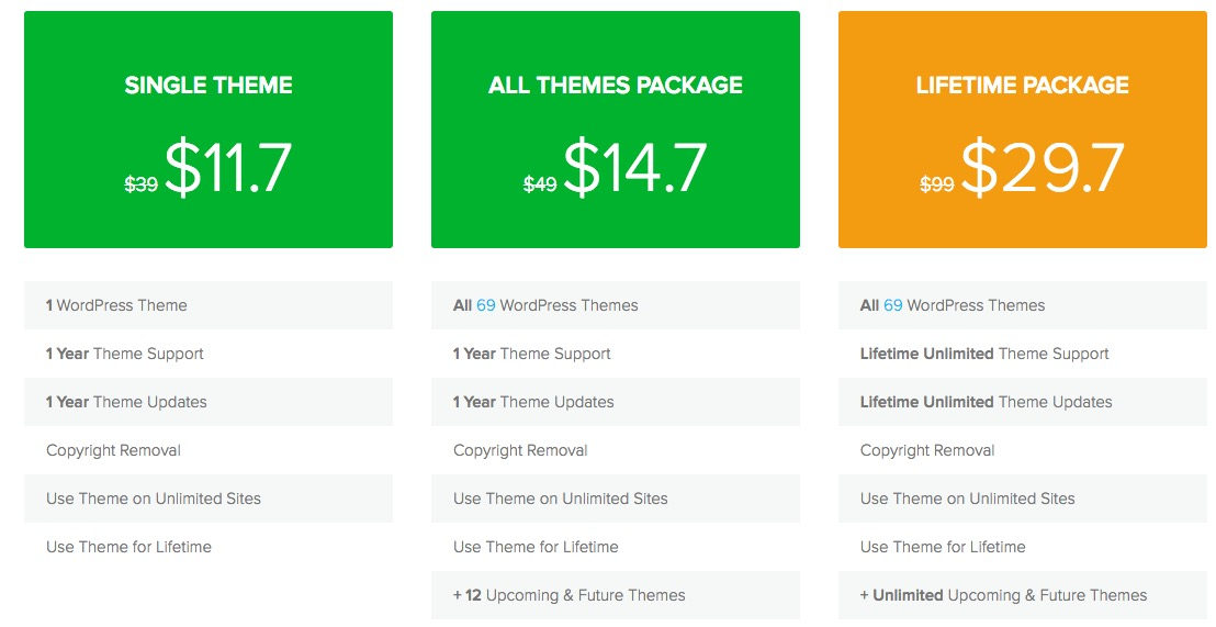Theme junkie discounted offer
