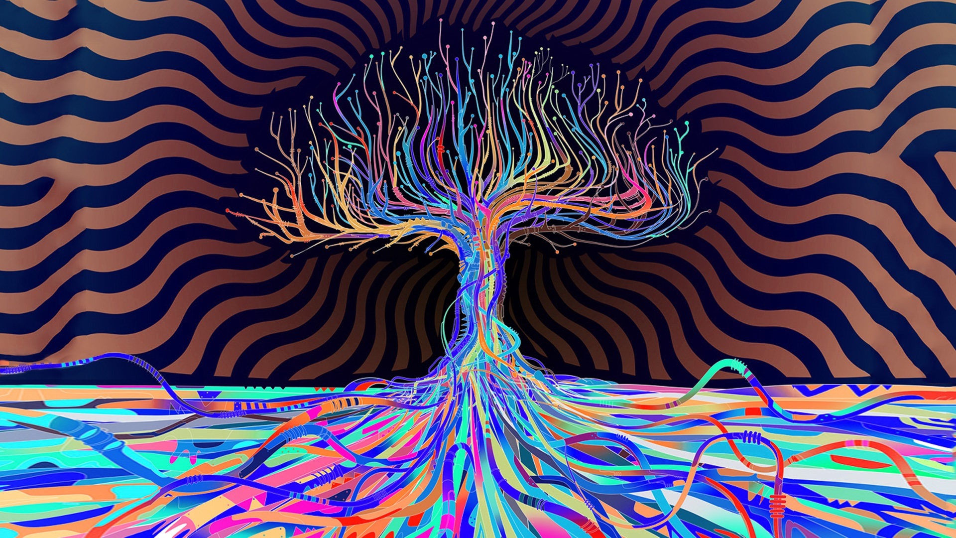 Cool backgrounds trippy psychedelic wallpapers for Poster psichedelici