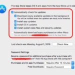 How to turn off auto update for OS and Apps on Mac OS X