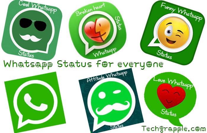 Best Cool Funny Love Sad Status For Whatsapp