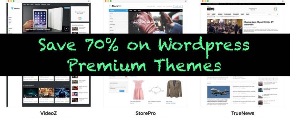 Wordpress theme discount coupon