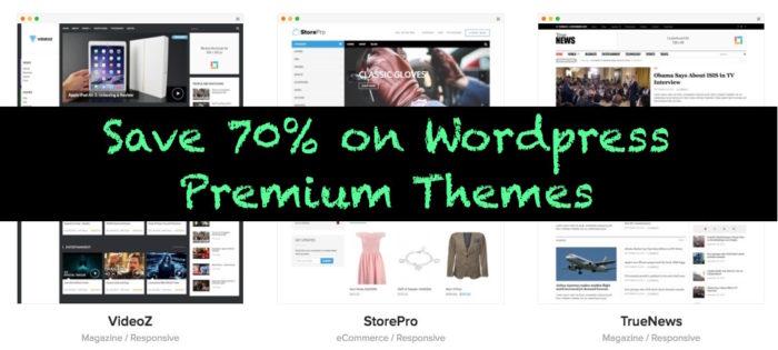 Wordpress theme discount coupon