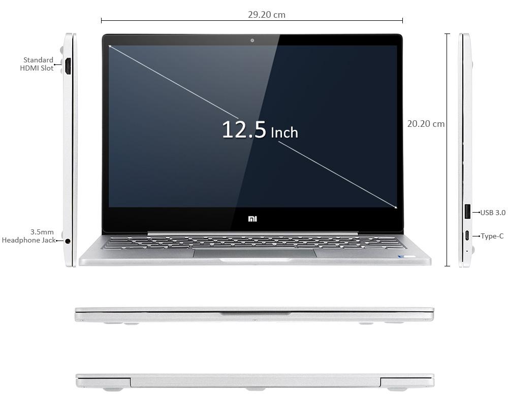 Xiaomi MI NoteBook Air Design