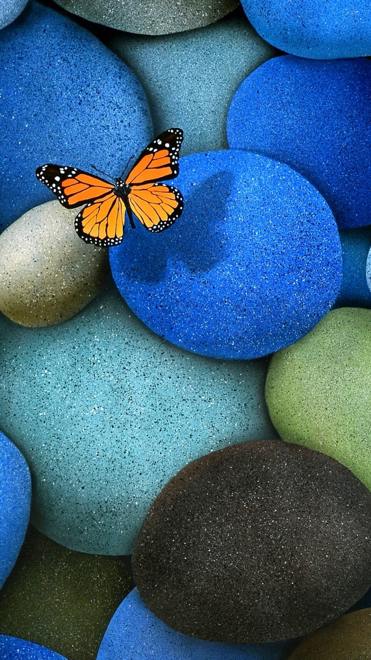 iPhone 6s colorful stone wallpaper