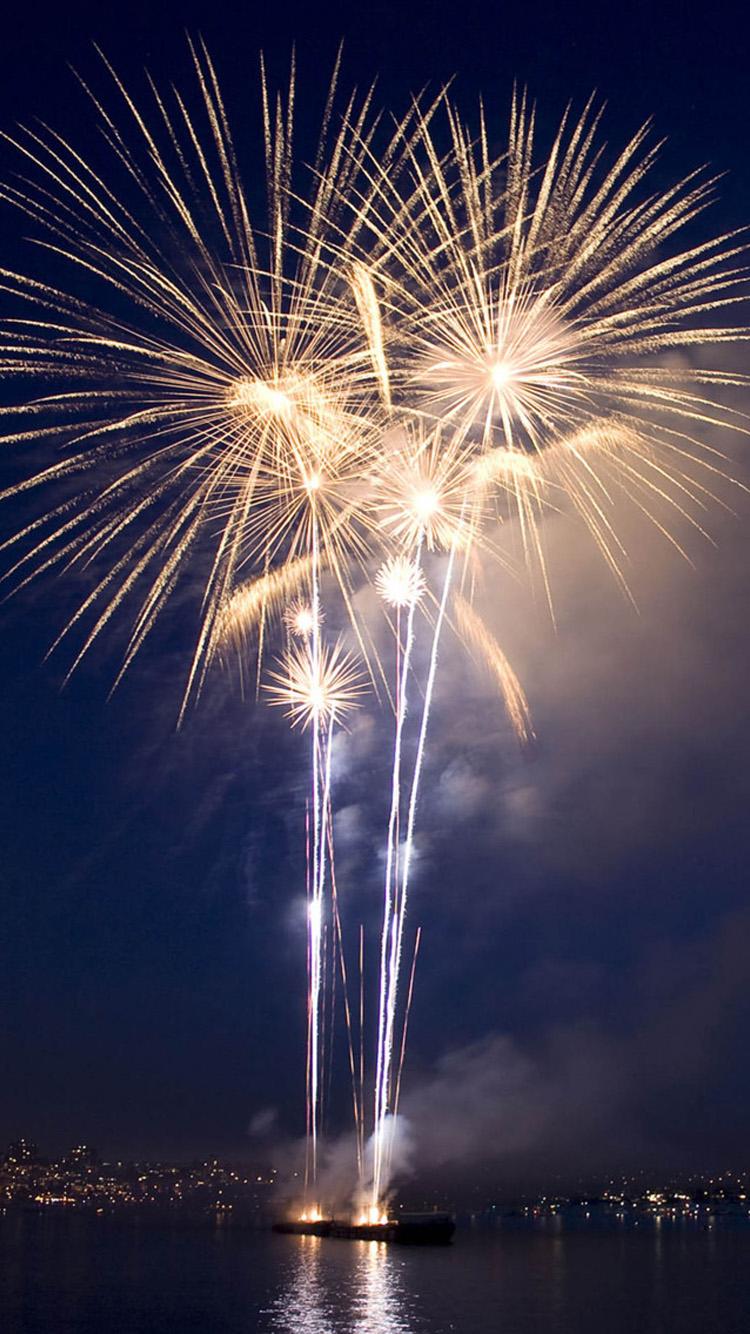 iPhone 6s firework wallpaper