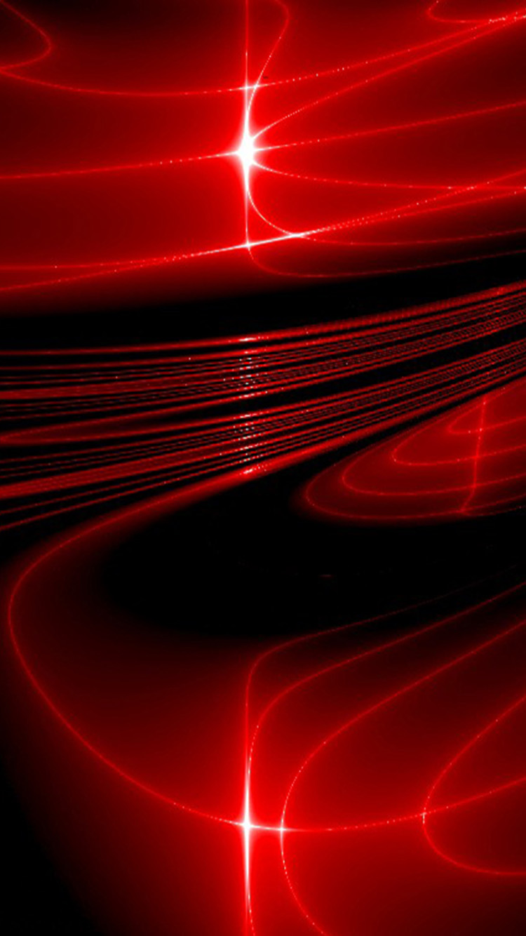 iphone 6 red 3d wallpaper