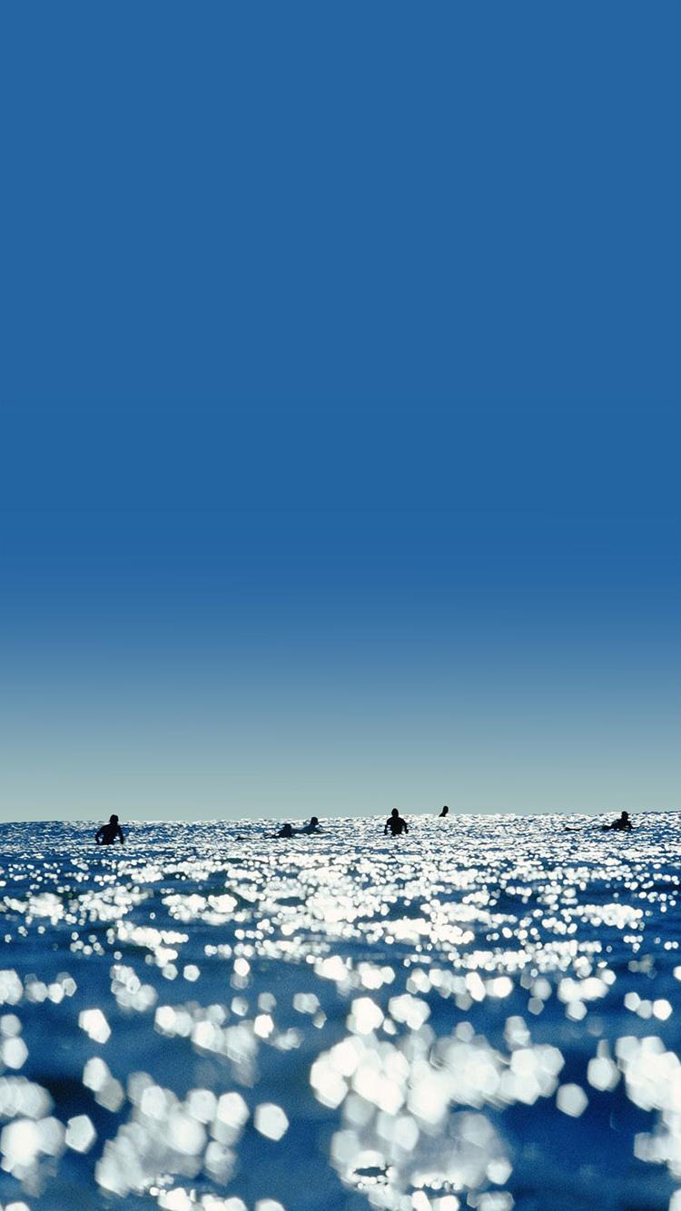 iphone 6s sea sunlight wallpaper