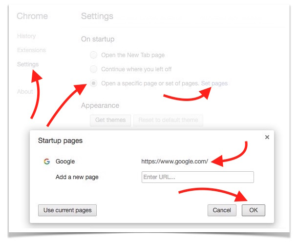 changing-google-chrome-home-page