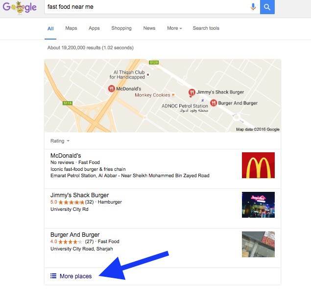 fast-food-restaurant-search-in-google-maps