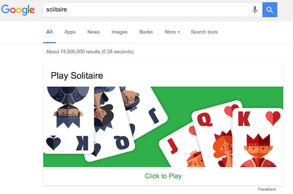 google-solitair-game