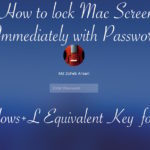 How to Quickly Lock Mac Screen or Put it to Sleep ? Windows+L Equivalent Key for Mac
