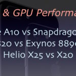 Apple A10 vs Snapdragon 821 vs 820 vs Exynos 8890 vs Helio X20 vs Helio X25