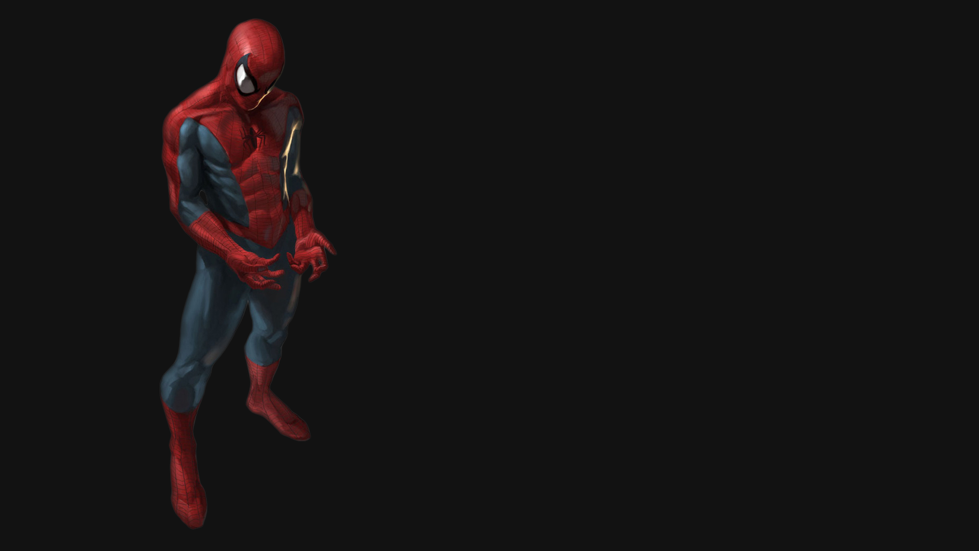 Most Inspiring Wallpaper Mac Spiderman - Spider-man-3D-Black-Wallpaper  Pic_852097.png