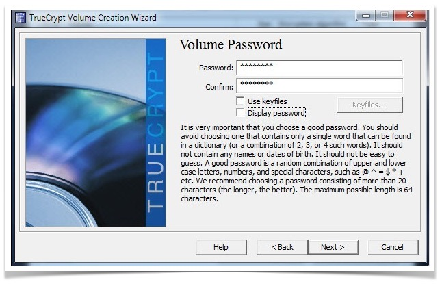 volume-password